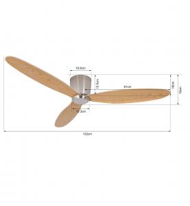 Stropný ventilátor Lucci Air Airfusion Radar 210519
