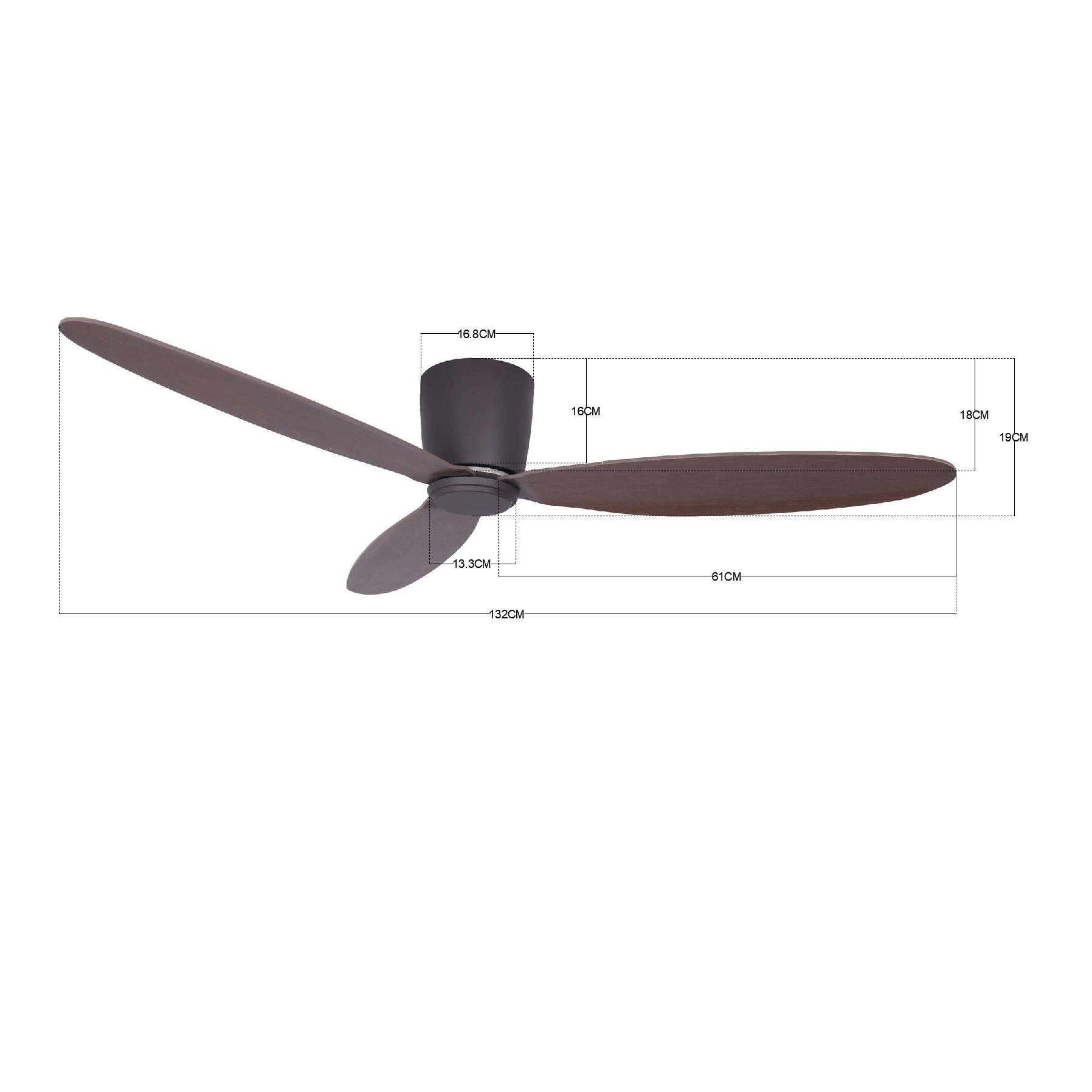 Stropný ventilátor Lucci Air Airfusion Radar 212883