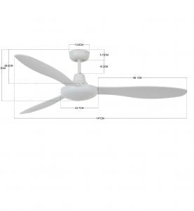 Stropný ventilátor  Bayside Jetstream 213020
