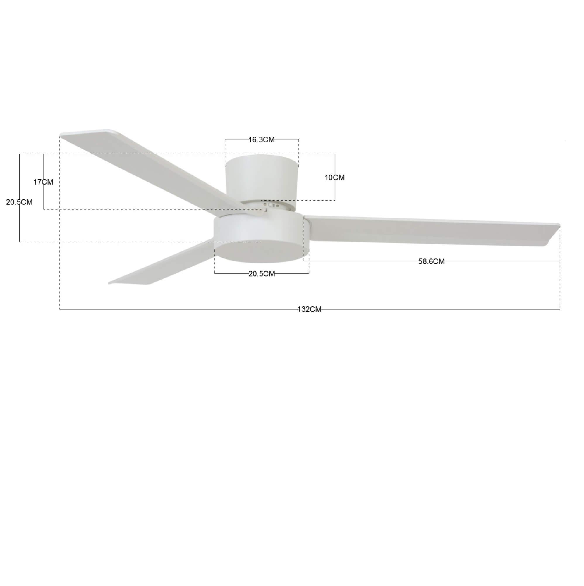 Stropný ventilátor  Bayside Lagoon 213034
