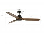 Stropný ventilátor Lucci Air Airfusion Shoalhaven 213051