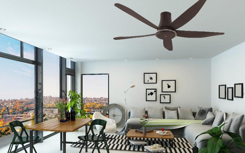 Výhody stropných ventilátorov